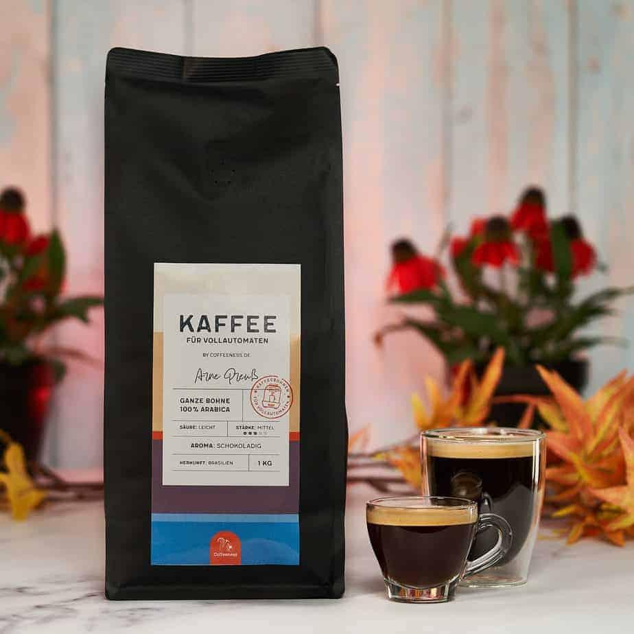 Kaffee für Vollautomaten by Coffeeness