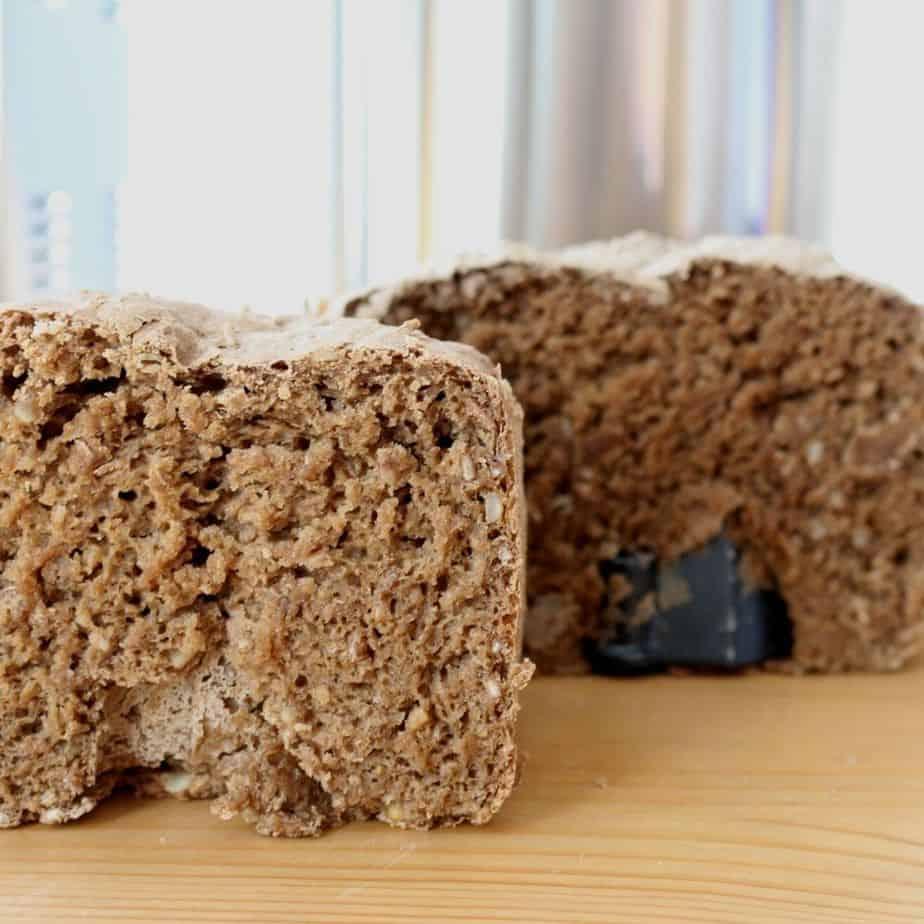 Brotbackautomat Test Brot Ergebnis von Vorne