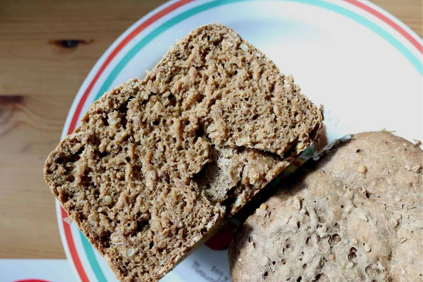 CalmDo Brotbackautomat Brot Ergebnis