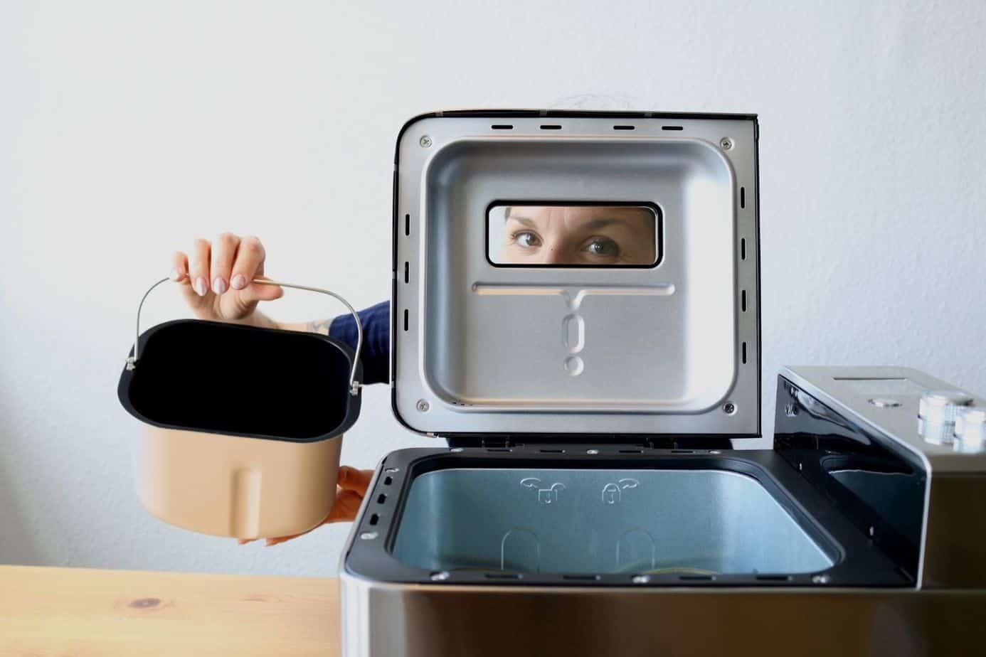 CalmDo Brotbackautomat Fenster
