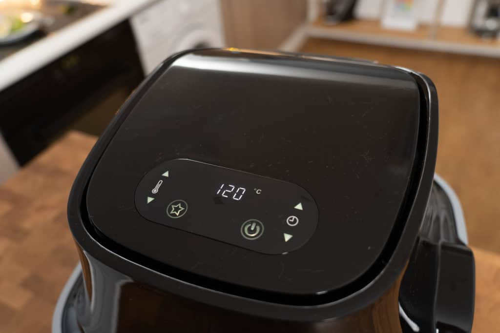 Digitales Display der CASO Design AF 400