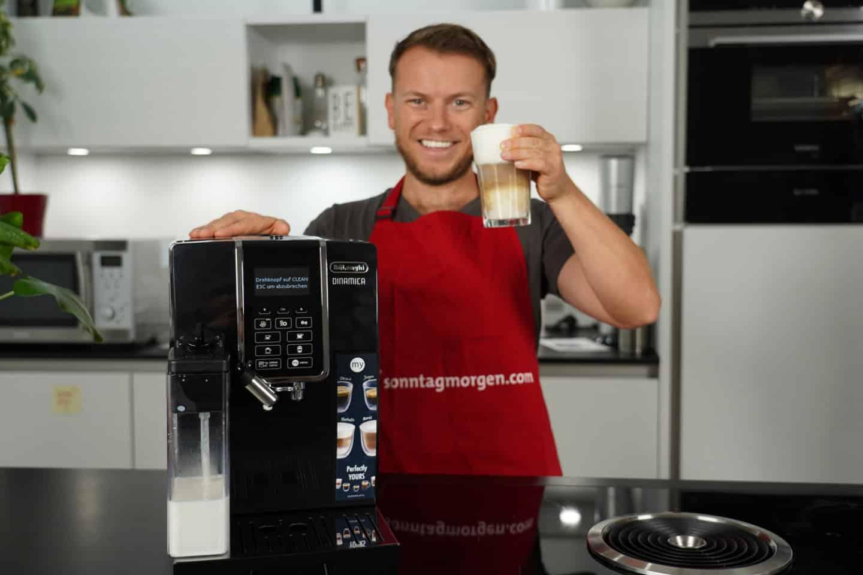 DeLonghi Dinamica ECAM 350.55.B Kaffeevollautomat im Test 2021