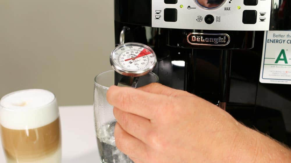 DeLonghi 22110B Brühtemperatur messen