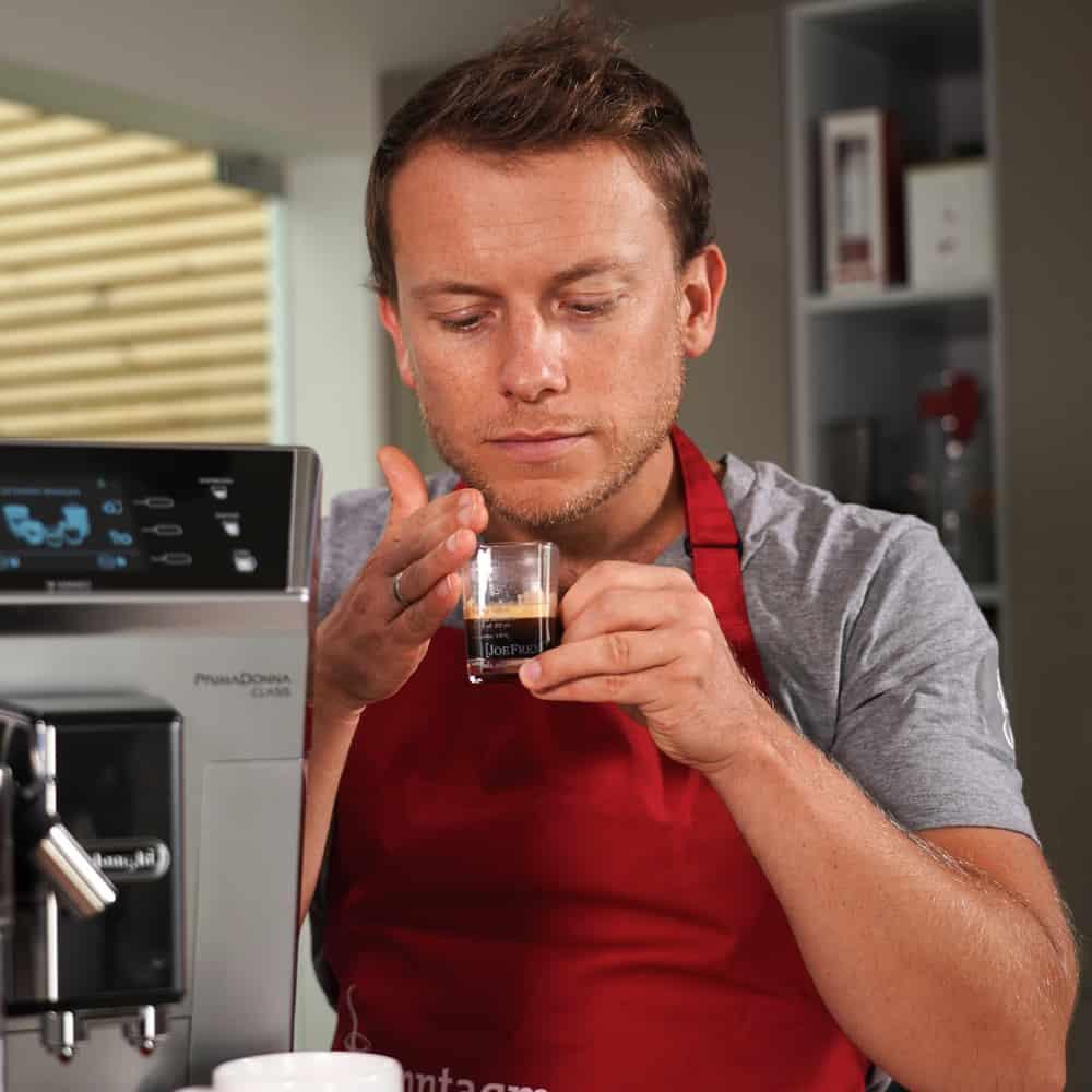 Espressotest - Geruch