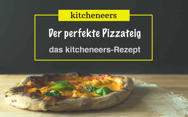 Pizzateig selber machen: die perfekte Pizza im Backofen