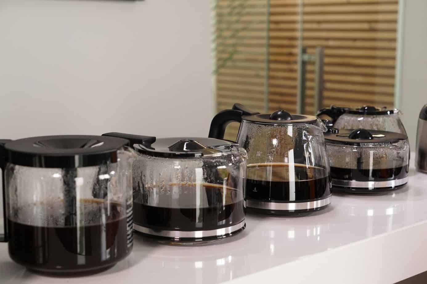 Kaffeemaschine Alle im Vergleich Kaffee vorbereitet