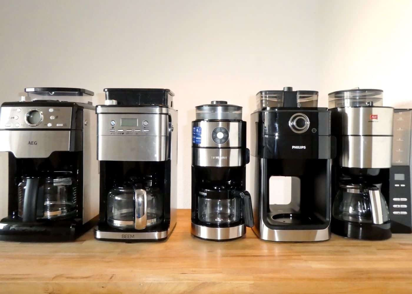 Kaffeemaschinen mit Mahlwerk im Test 2021: Geniale Produktidee mit einigen Umsetzungsschwächen