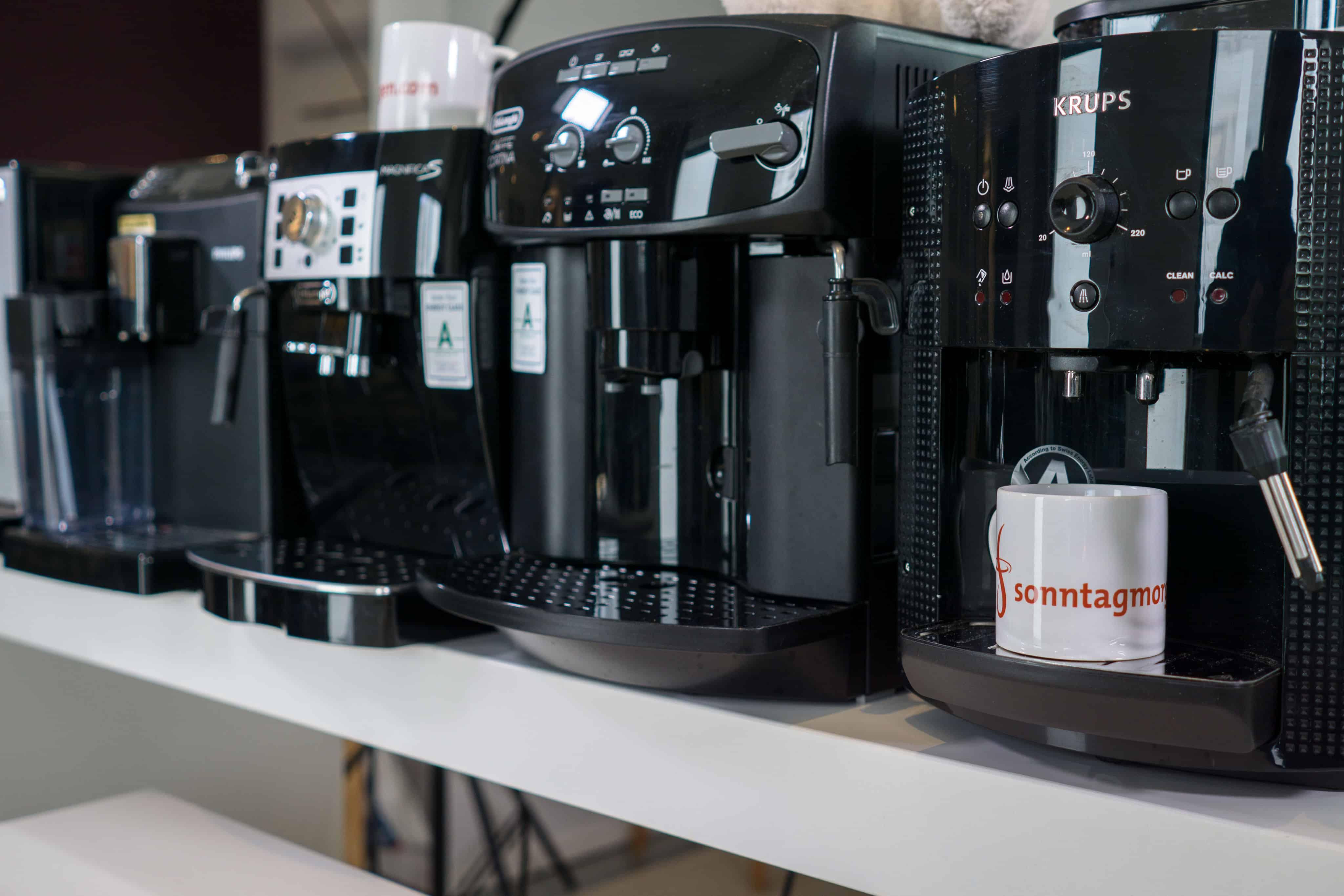 Kaffeevollautomat für Firmen 2021: So finden Sie das passende Modell