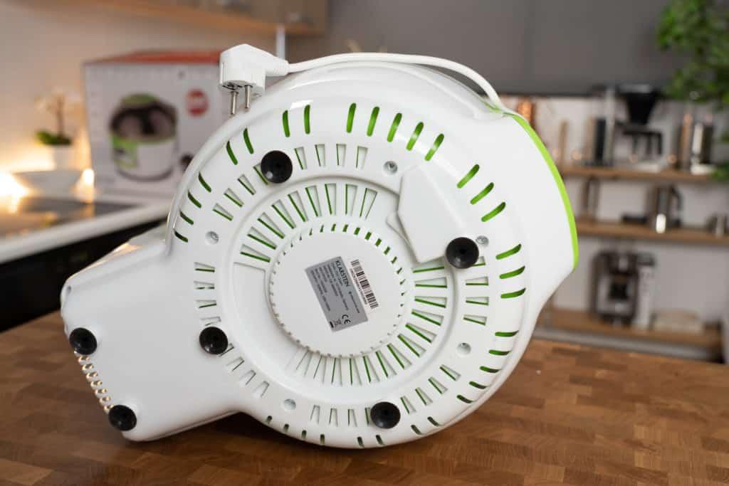 Klarstein VitAir Turbo - Gerät Unterseite