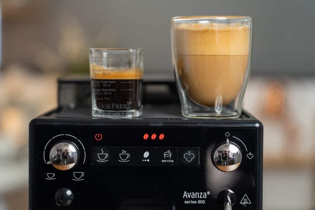 Melitta Avanza - Espresso Latte Detail