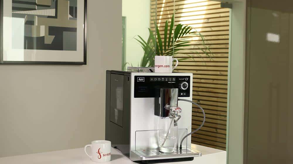 Ansicht des Melitta Caffeo CI Kaffeevollautomaten