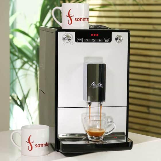 Espressobezug beim Caffeo Solo