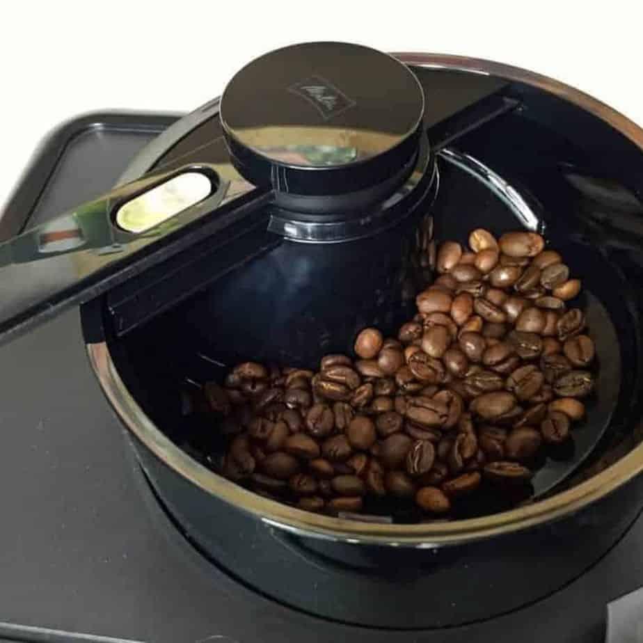 Melitta Caffeo Varianza CSP Kaffeevollautomat Bohnen