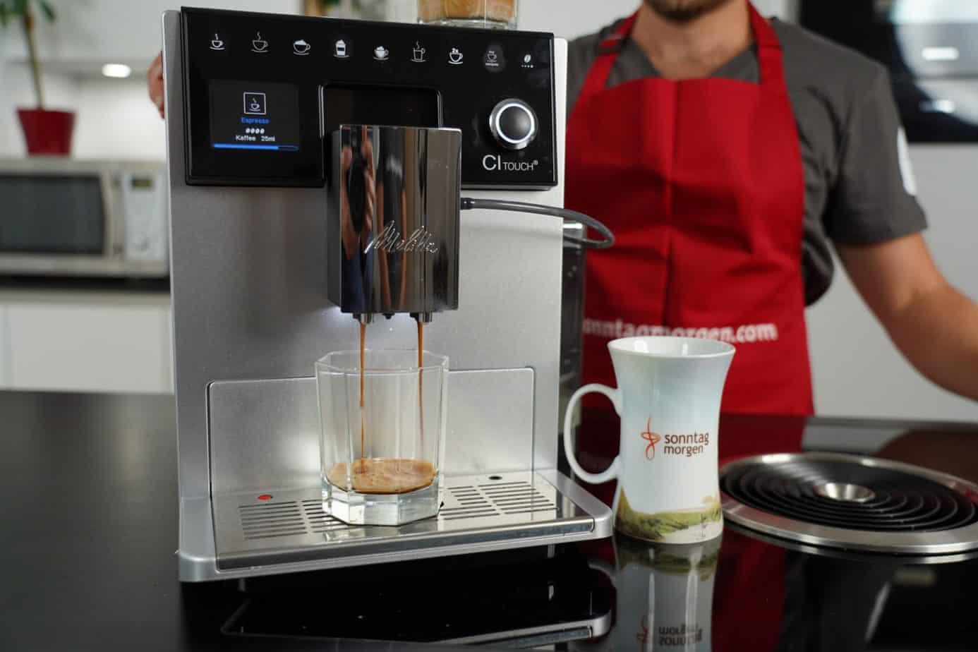 Melitta CI Touch Kaffeevollautomat im Test 2020: Innovatives Update oder Marketingschwindel?