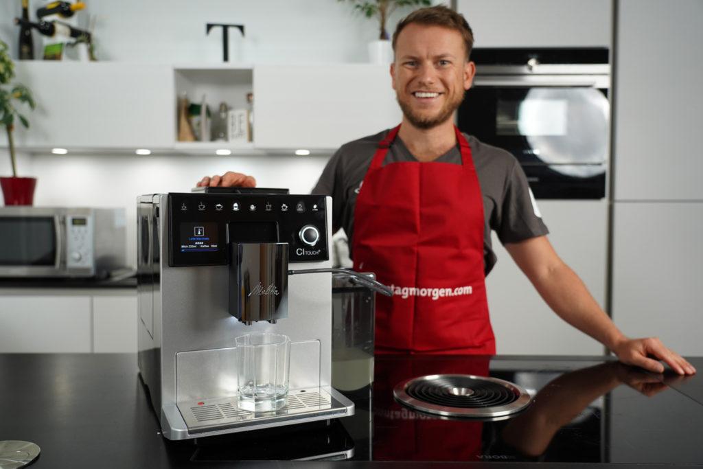 Vollansicht des Melitta CI Touch Kaffeevollautomaten