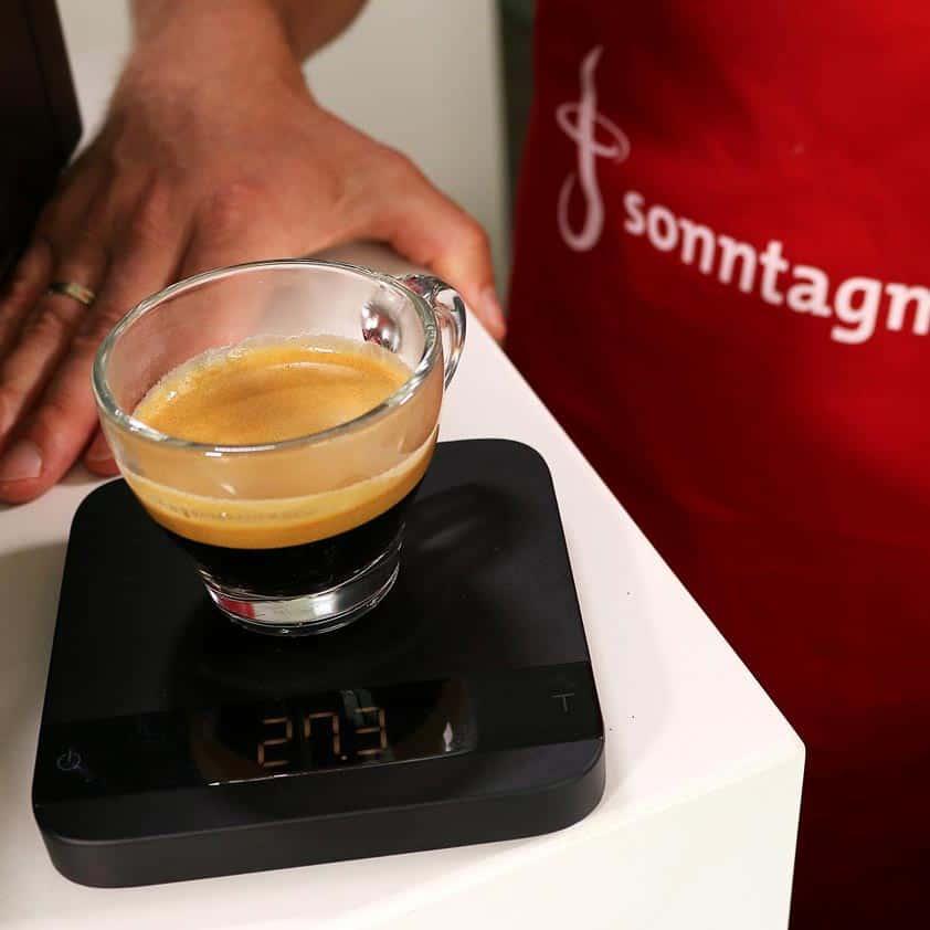 Miele CM 6350 - Beurteilung des Espressos