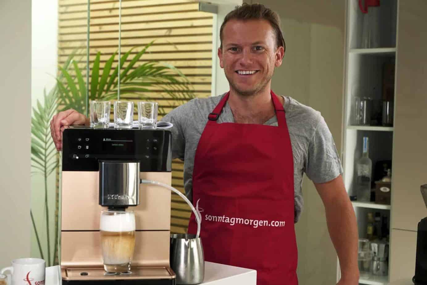 Miele CM 5500 Kaffeevollautomat im Test 2020: Gute Qualität im tollen Design
