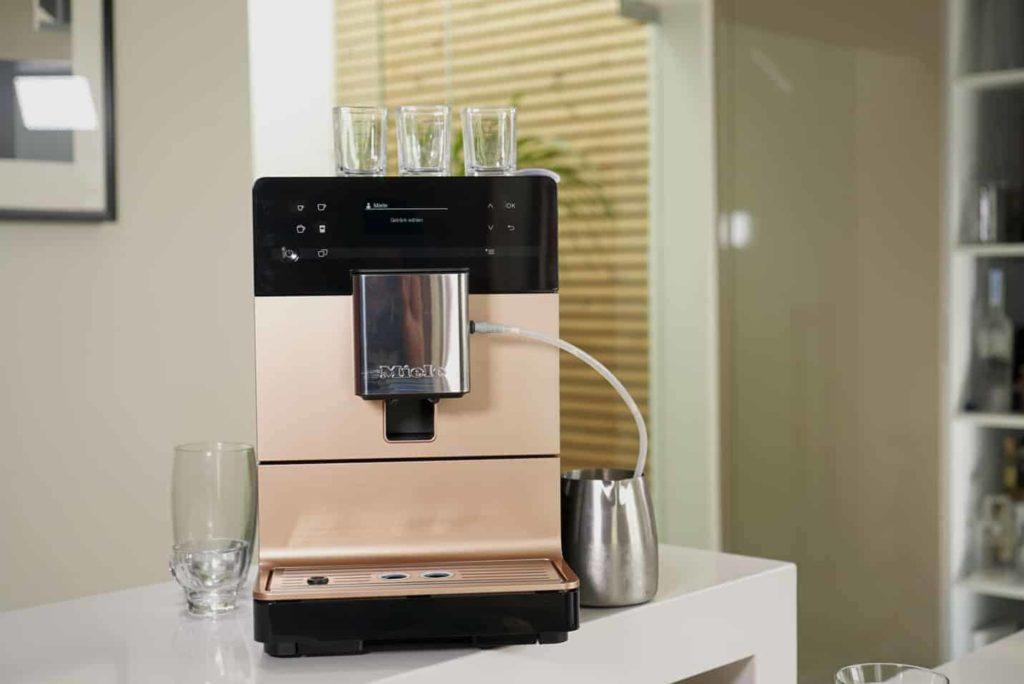 Miele CM 5500 - Vorderansicht des Kaffeevollautomaten