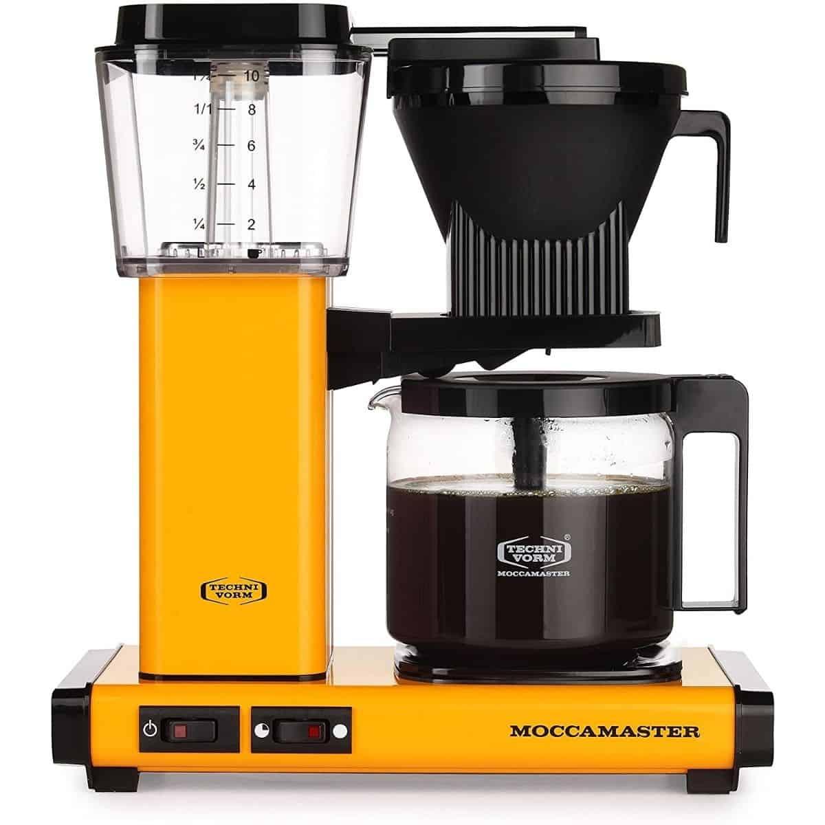 Moccamaster Filter-Kaffeemaschine, Yellow Pepper