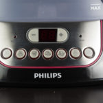 philips dampfgarer bedienfeld