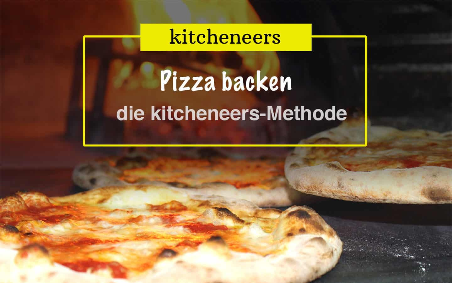 Pizza backen: die beste Methode für den Heimofen