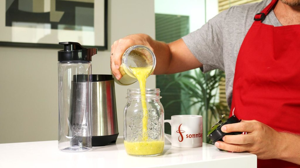 Russel Hobbs Mix&Go Smoothie in Glas