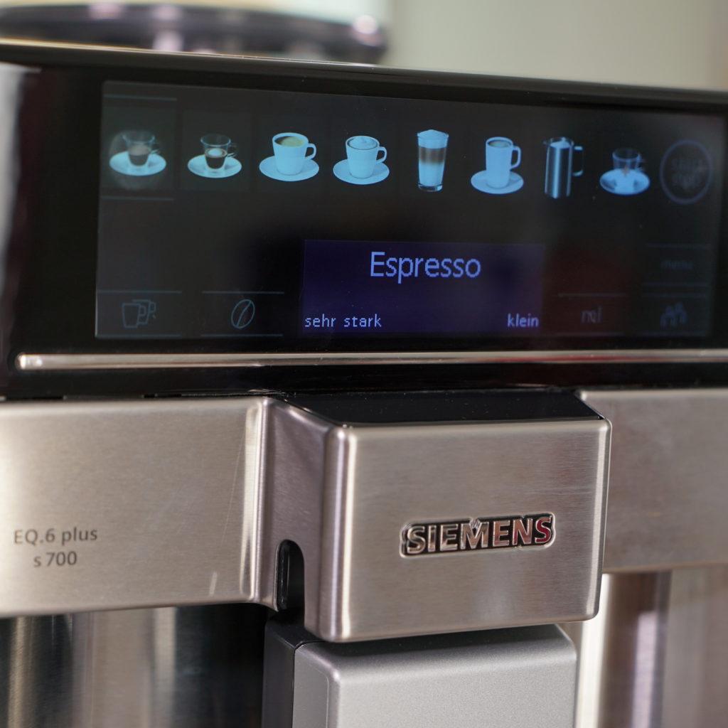 Siemens EQ.6 s700 - Display