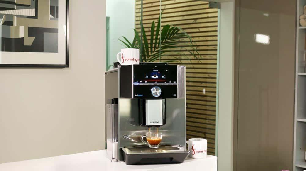 Siemens EQ.9 plus connect s500 Kaffeevollautomat - Übersicht