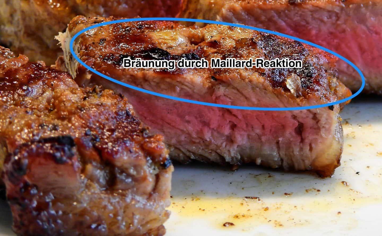 Steak Maillard Reaktion