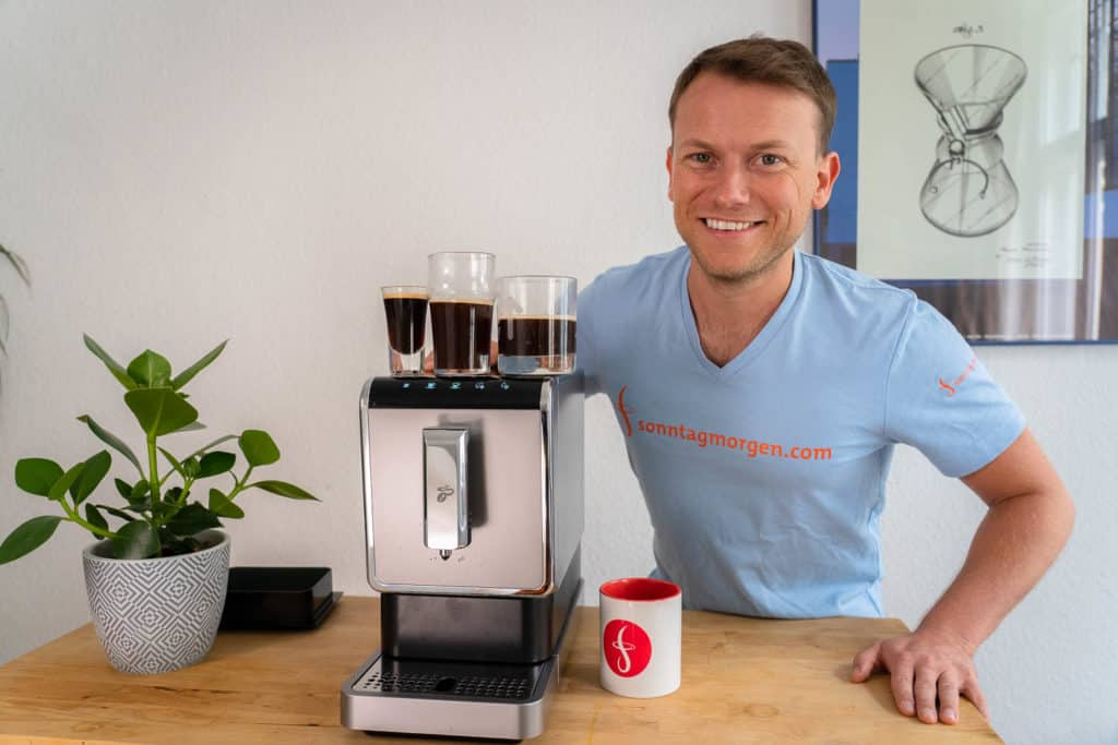 Tchibo Esperto Caffè Kaffeevollautomat im Überblick