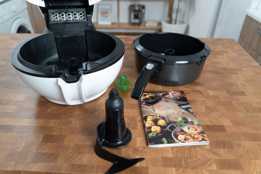 Tefal ActiFry Genius XL Lieferumfang alternative Ansicht