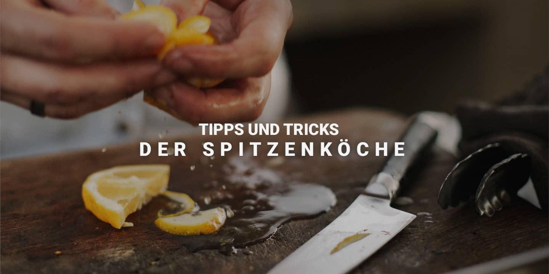 28 Kochtipps von 20 Sterne- und Spitzenköchen Deutschlands