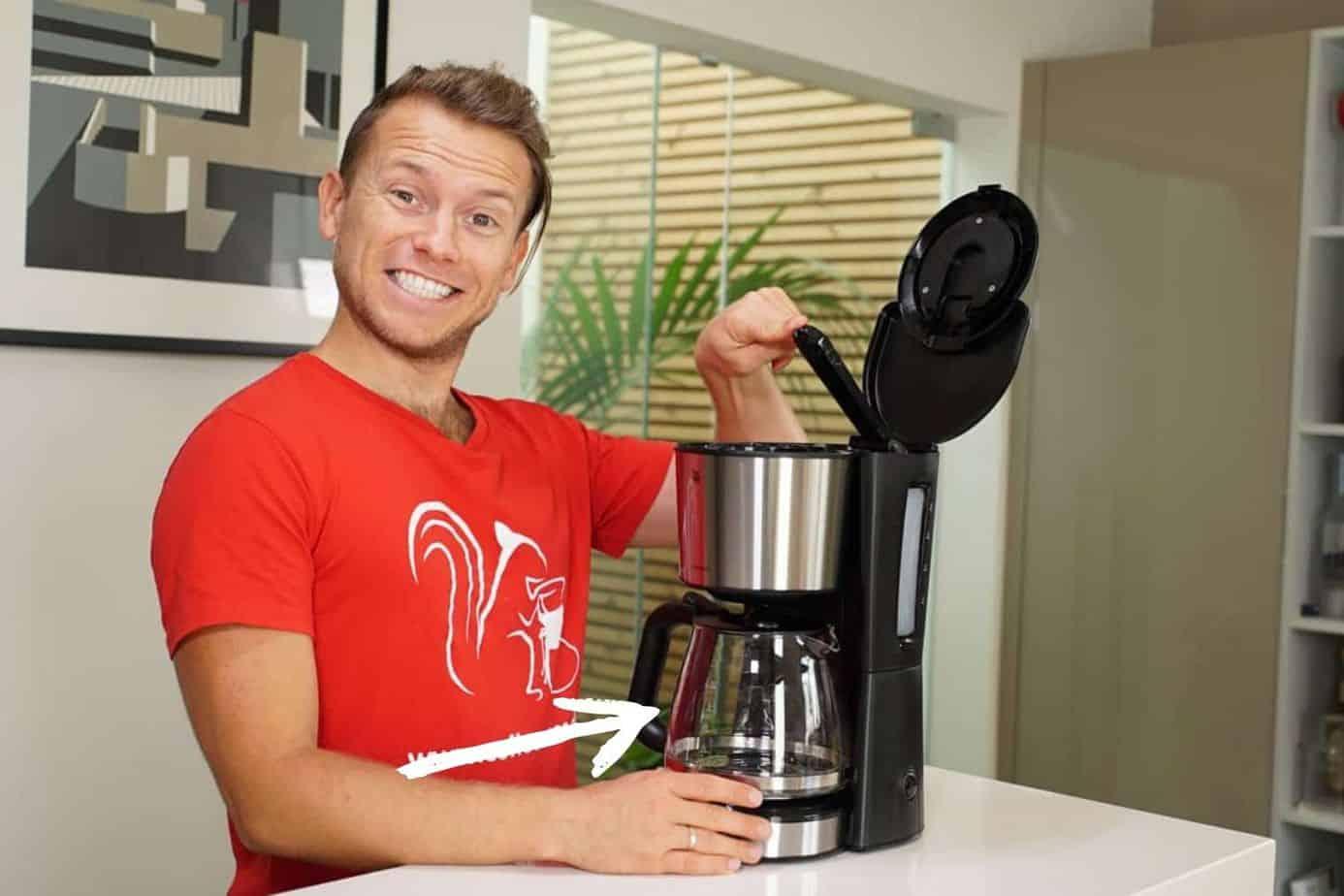 WMF Bueno Kaffeemaschine Wasser Auslass